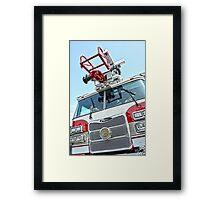 Pierce Ladder Framed Print