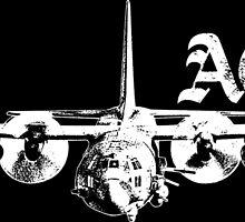 AC-130 by deathdagger
