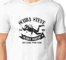 Scuba steve geek funny nerd Unisex T-Shirt