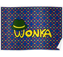 Wonka Wine gum Poster