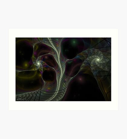 Aglaia - One of Several Graces  Art Print