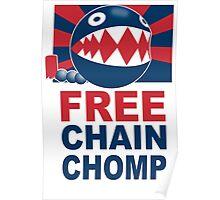 Free Chain Chomp Funny T-Shirt & Hoodies Poster