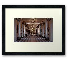 Christmas in a Castle Framed Print
