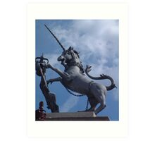 Mythical Unicorn Art Print