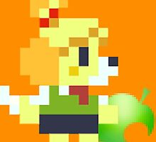 8 bit isabelle by thesocialbomber