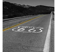 Route 66 #4 Photographic Print