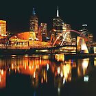 MELBOURNE CITY BY NIGHT by Scott  d&#x27;Almeida