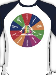 Zone Theory Circle of Smells Tim and Eric T-Shirt