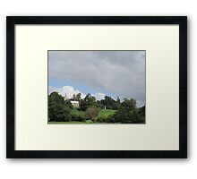 sunday review Framed Print