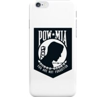POW MIA iPhone Case/Skin