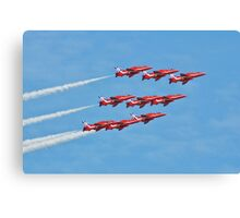 The Red Arrows, Eastbourne Canvas Print