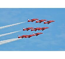 The Red Arrows, Eastbourne Photographic Print