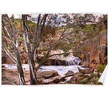The Falls - Mannum Falls, Riverland, South Australia Poster