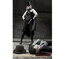 Ripper and Victim Photographic Print
