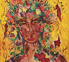Fall equinox 2010   Bountiful Tree Spirit by eoconnor