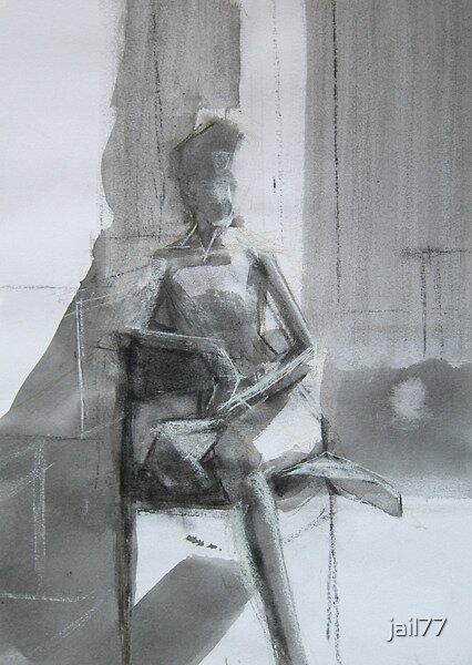 Seated figure by jail77