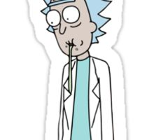 Rick and Morty Spit Sticker