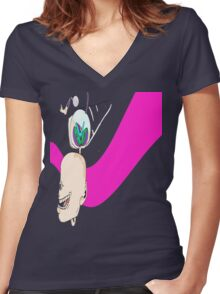 SEGA Women's Fitted V-Neck T-Shirt