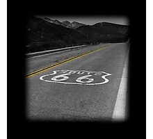 Route 66 #2 Photographic Print