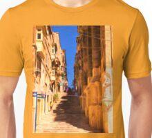 Valletta stairs Unisex T-Shirt