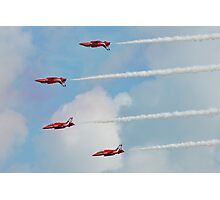 Red Arrows aerobatic team Photographic Print