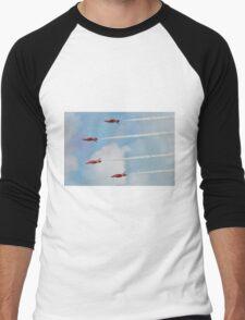 Red Arrows aerobatic team Men's Baseball ¾ T-Shirt