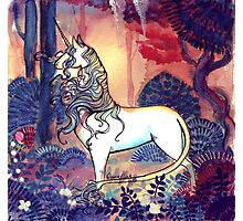 The last Unicorn Photographic Print