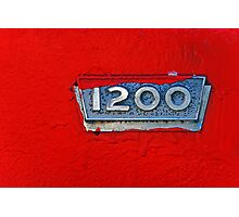 1200 Photographic Print