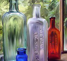Vintage Medicine Bottles by suzannem73