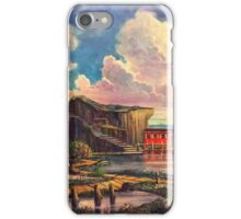 The Little Red Houseboat iPhone Case/Skin