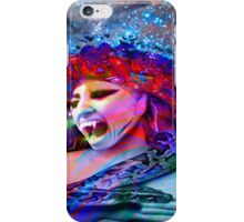 Space Vampire iPhone Case/Skin