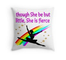 DAZZLING AND DYNAMIC DANCER DESIGN Throw Pillow