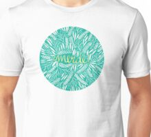 Pardon My French – Turquoise & Gold Unisex T-Shirt