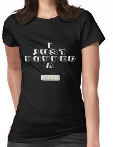 Xanax (Zanz) Womens Fitted T-Shirt