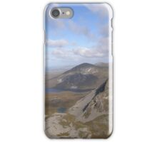 Mountain range view from Errigal Mountain Donegal Ireland iPhone Case/Skin