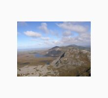 Mountain range view from Errigal Mountain Donegal Ireland Unisex T-Shirt