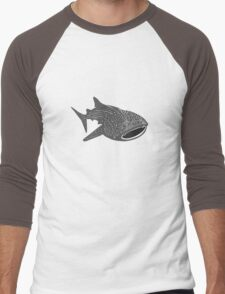 Walhai wal hai whale shark animal geek funny nerd Men's Baseball ¾ T-Shirt