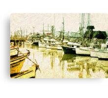 Fisherman's Wharf Canvas Print