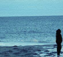Beachy Blue Silhouette by mashupofme