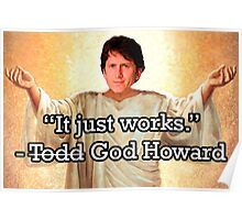 God Howard Poster
