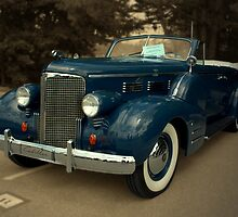 1938 Cadillac 7529 Convertible 4 Door Sedan by TeeMack