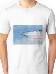 Red Arrows display team Unisex T-Shirt