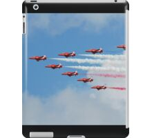 Red Arrows display team iPad Case/Skin