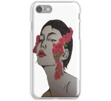 Woman in the Mirror iPhone Case/Skin