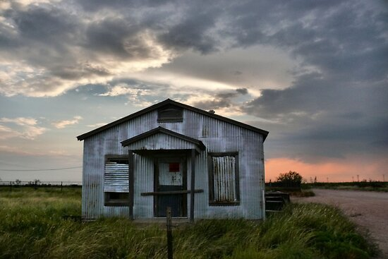 Shell Oil ~ Field Office by Carla Jensen