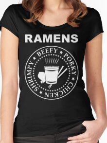 The Ramens Women's Fitted Scoop T-Shirt
