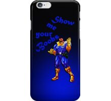 Captain Falcon Wants Boobs iPhone Case/Skin