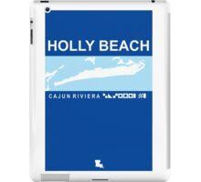 Holly Beach - Cajun Riviera.  iPad Case/Skin
