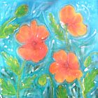 Batik Poppies by Alexandra Felgate