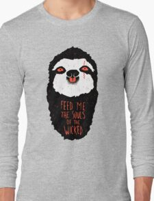 Evil Sloth Long Sleeve T-Shirt